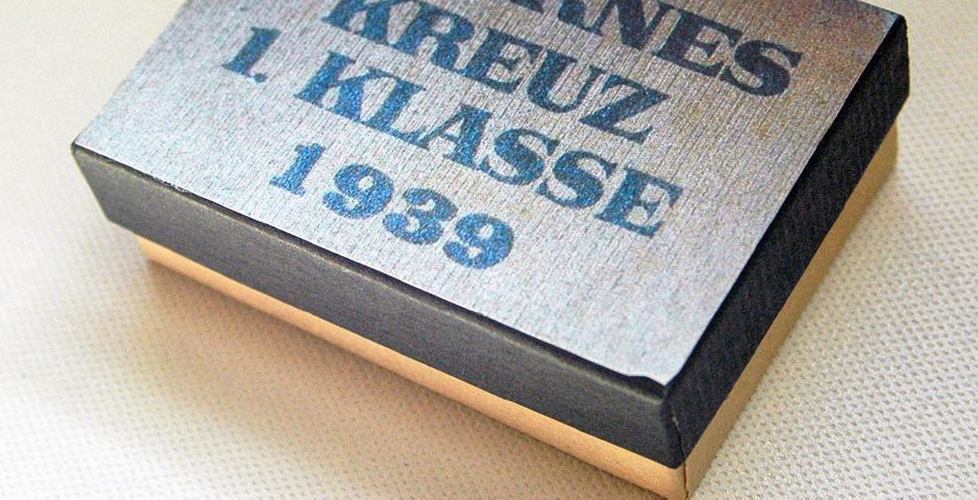 German WW2 LDO Box Etui for Iron Cross 1st Class - 6