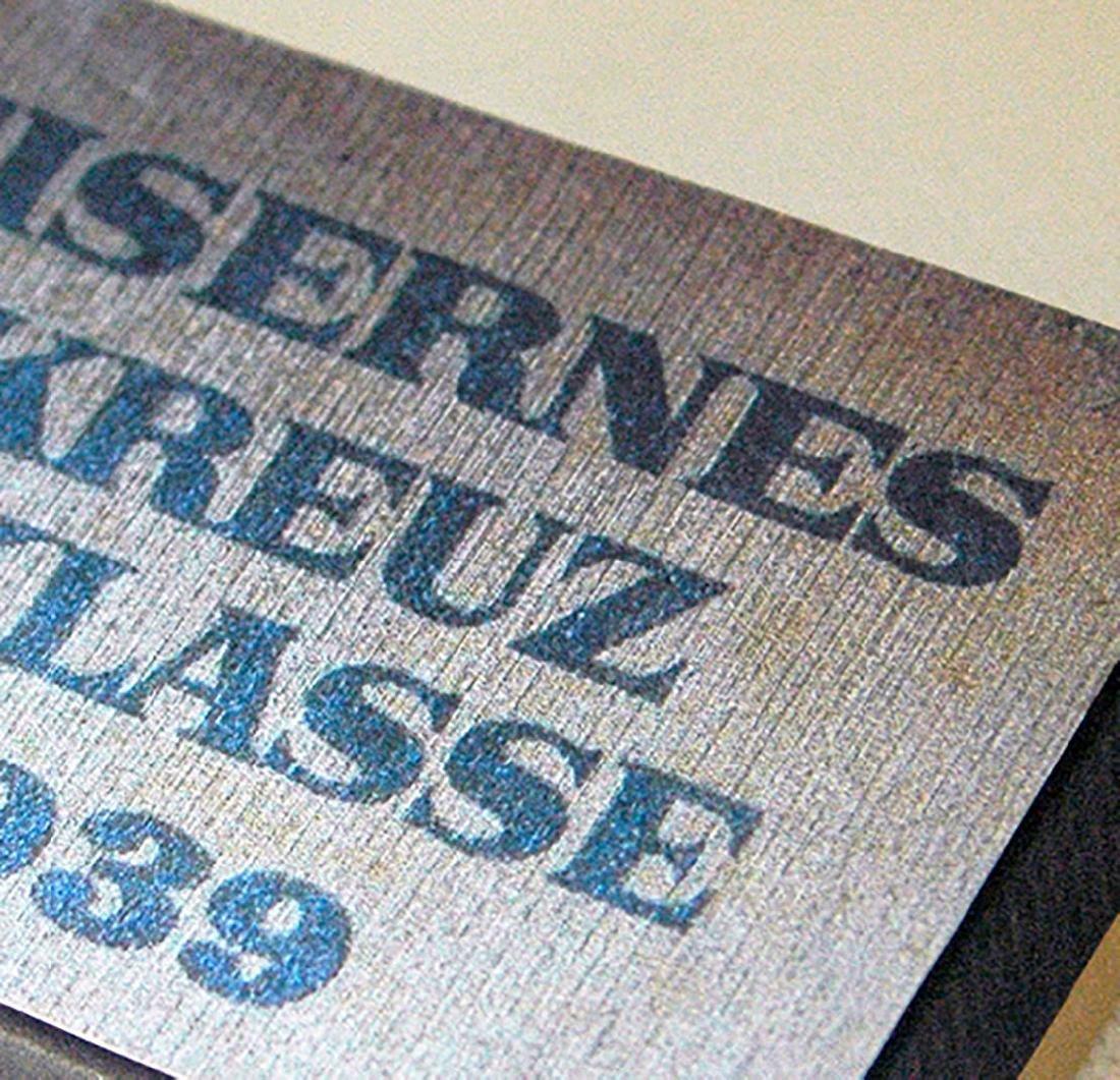 German WW2 LDO Box Etui for Iron Cross 1st Class - 8