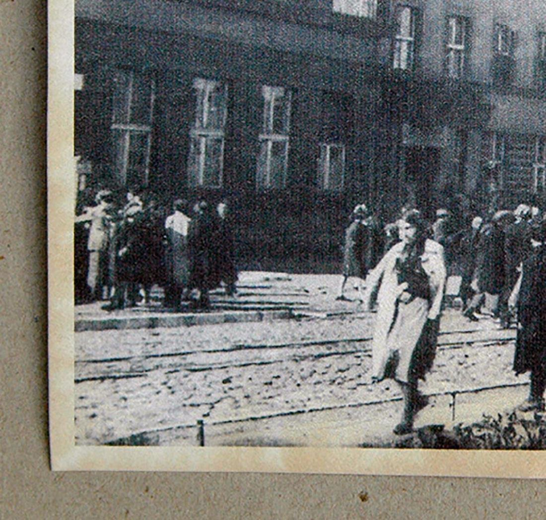 Polish WW2 Postcard of Litzmannstadt Ghetto, 1941 - 5