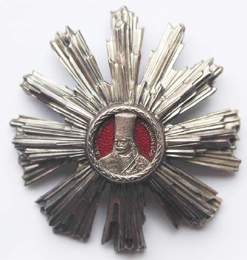 WW2 Romanian Silver Star - Order of Tudor Vladimirescu - 2