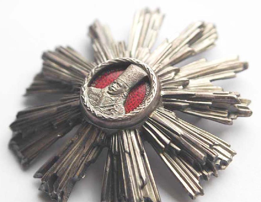 WW2 Romanian Silver Star - Order of Tudor Vladimirescu - 3