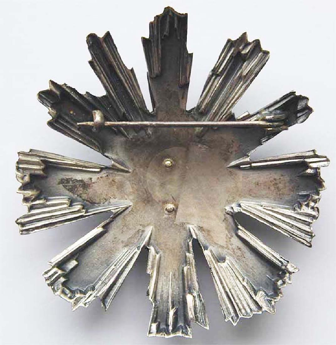WW2 Romanian Silver Star - Order of Tudor Vladimirescu - 4