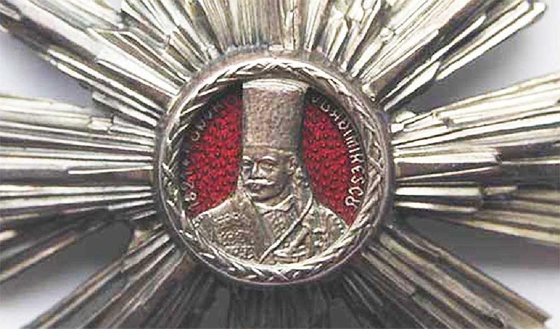 WW2 Romanian Silver Star - Order of Tudor Vladimirescu - 7