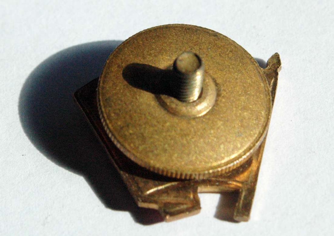 Russian Soviet VLKCM Badge, Enameled - 4