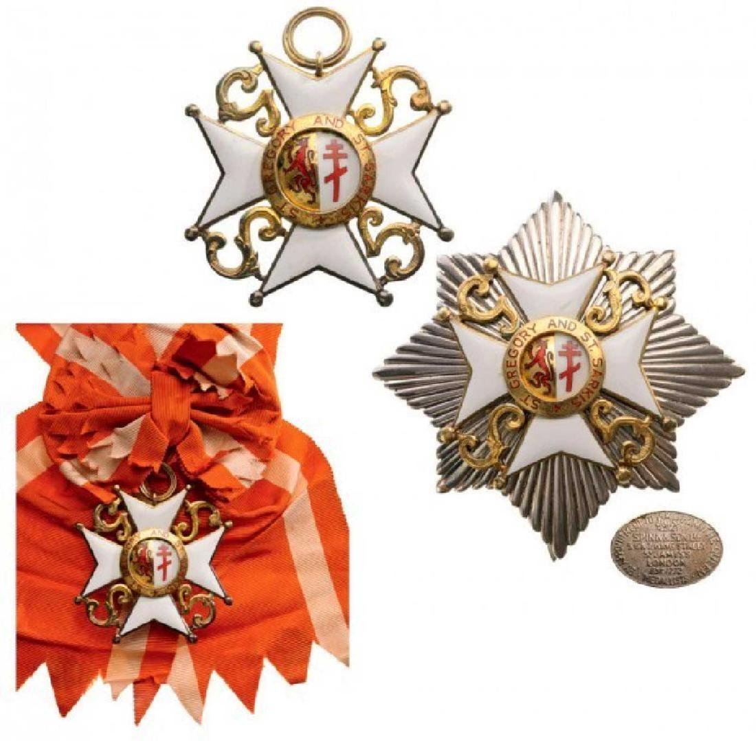 ST. GREGORY AND ST. SARKIS ORDER, Grand Cross Set, 1st