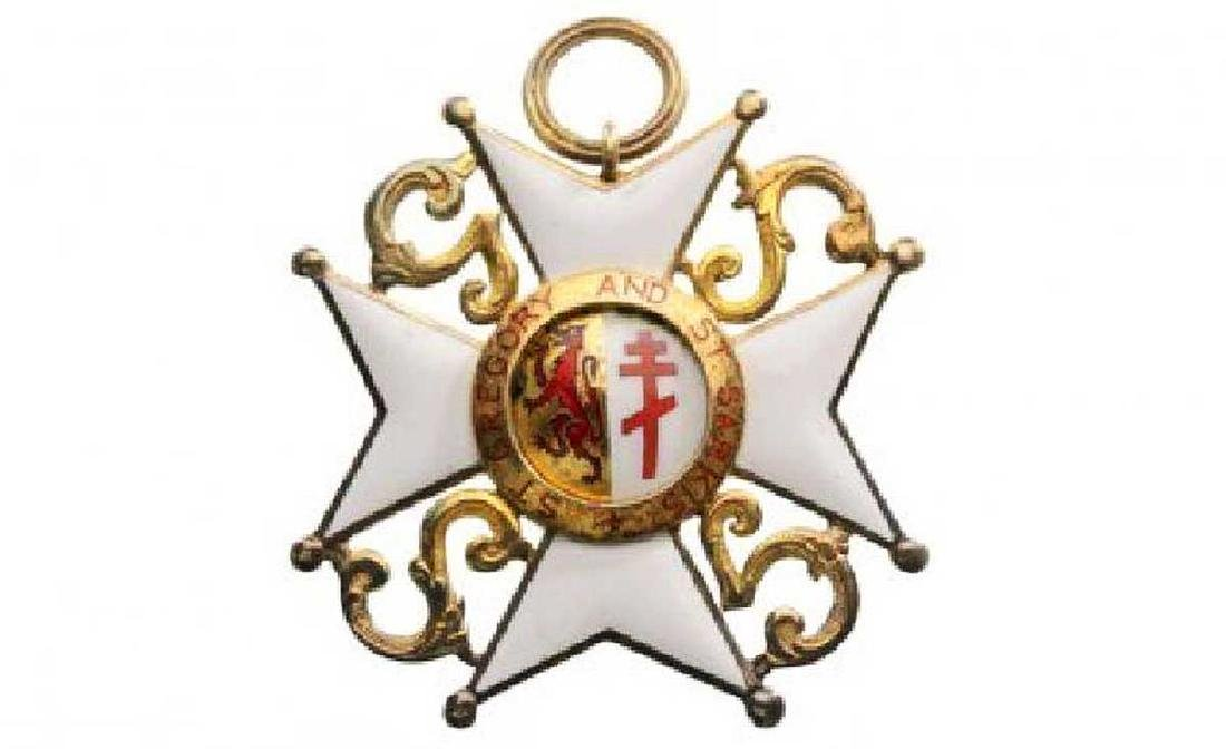 ST. GREGORY AND ST. SARKIS ORDER, Grand Cross Set, 1st - 3