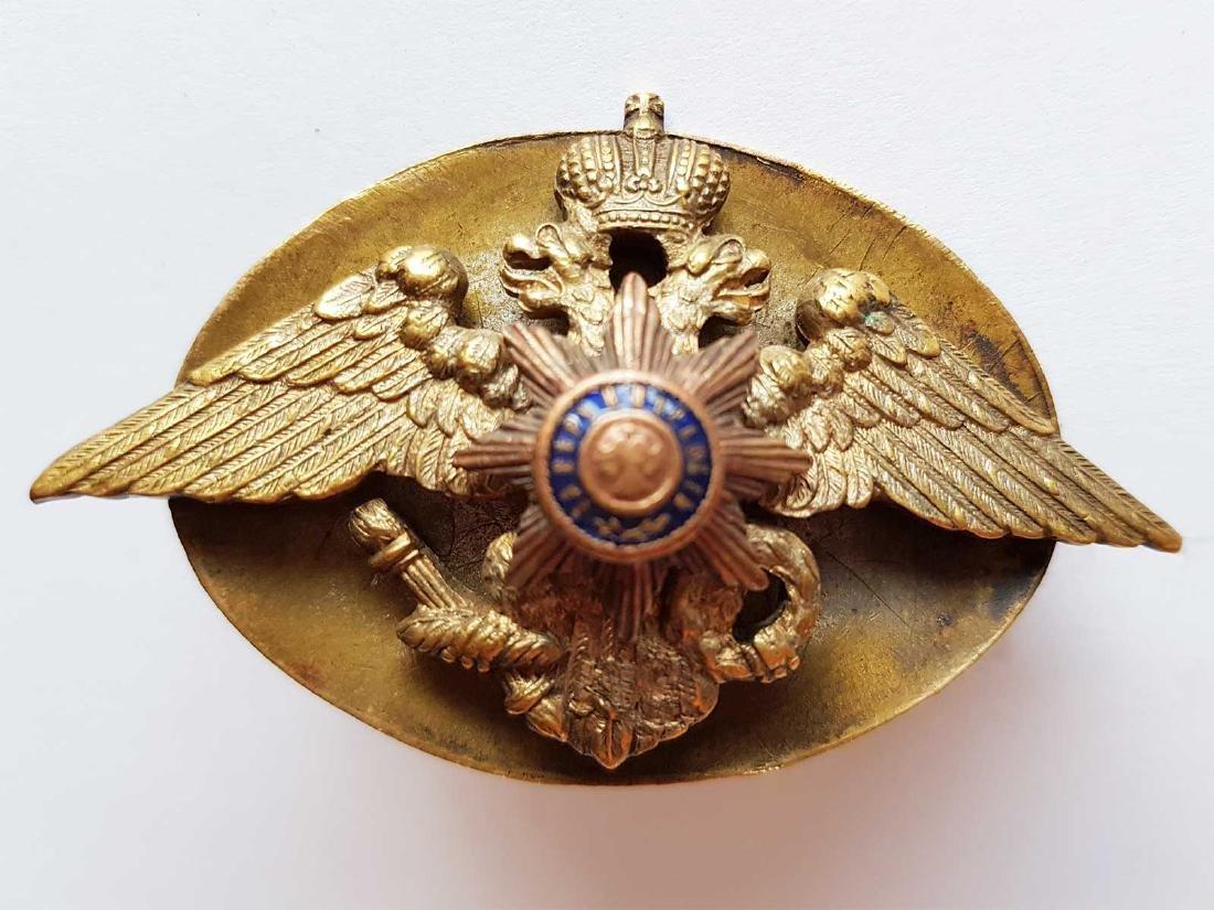 Russian Imperial Badge Nikolaev Cavalry School, 1916 - 2