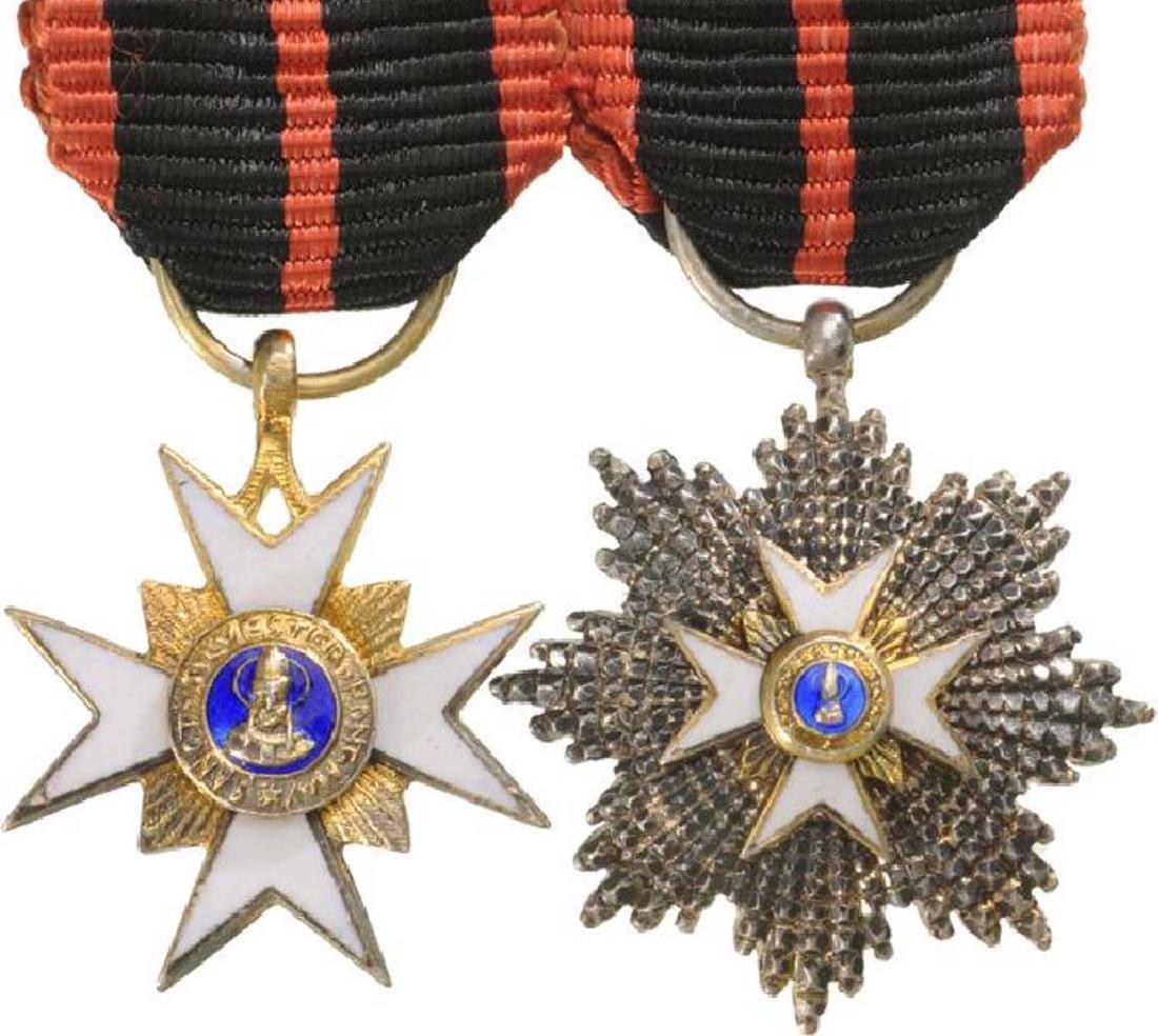Order of Saint Gregory, Grand Cross Set, 1st Class,