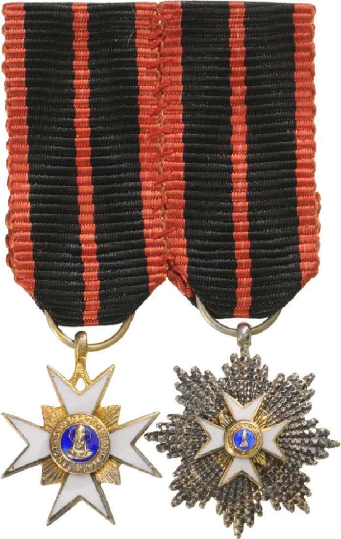 Order of Saint Gregory, Grand Cross Set, 1st Class, - 2