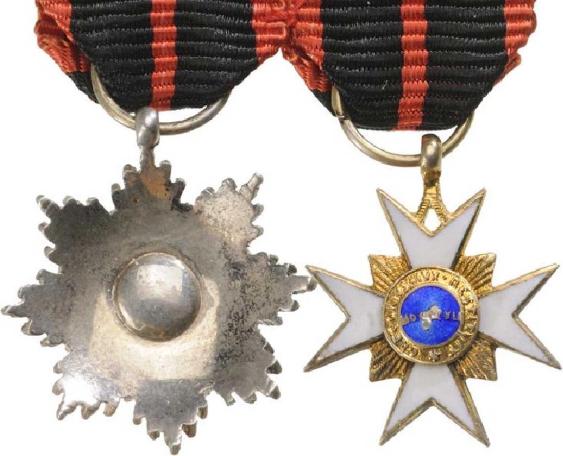 Order of Saint Gregory, Grand Cross Set, 1st Class, - 4