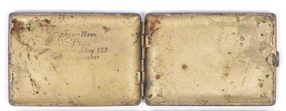 German WW2 Anti-Semitic Cigarette Case - 3
