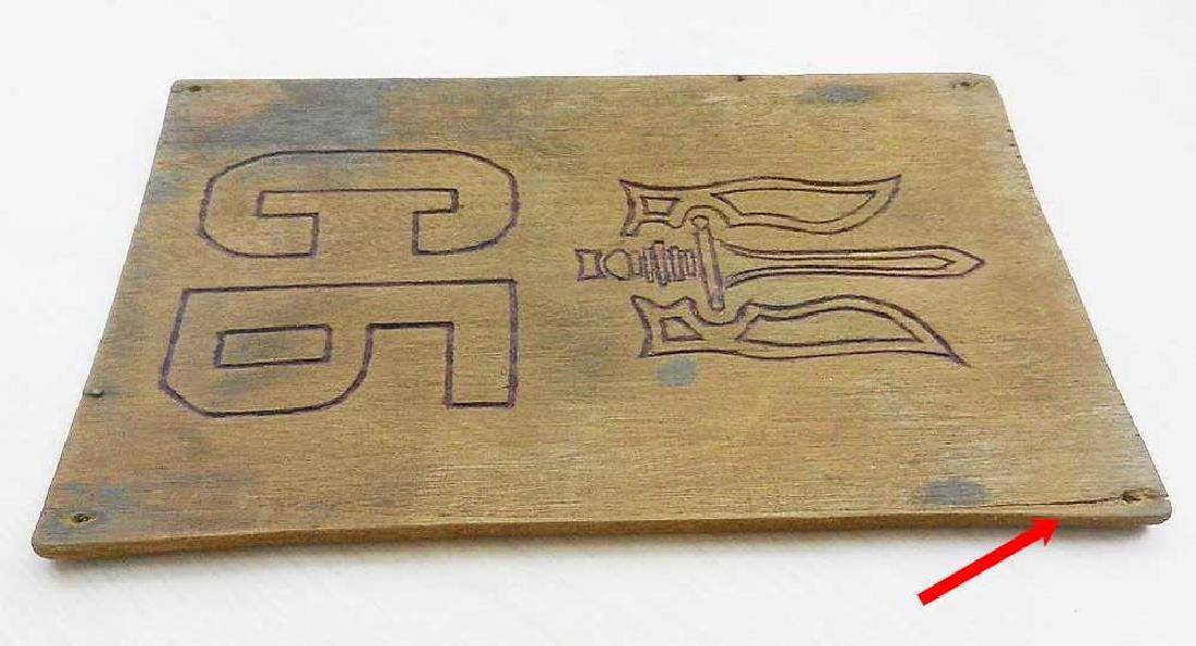 Ukrainian WW2 Plate UPA, Sluzhba Bezpeky SB OUN - 6