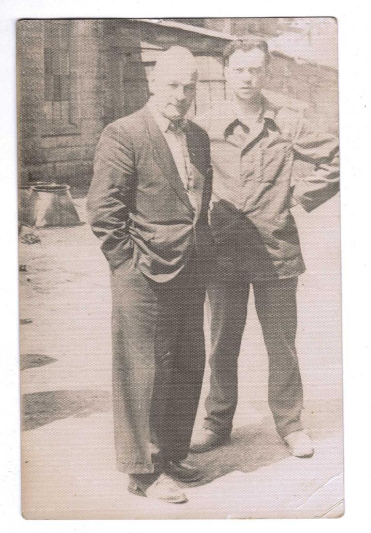Russian Soviet 2 Photos fr. Kolyma+Cigarette Pipe, 1937 - 3