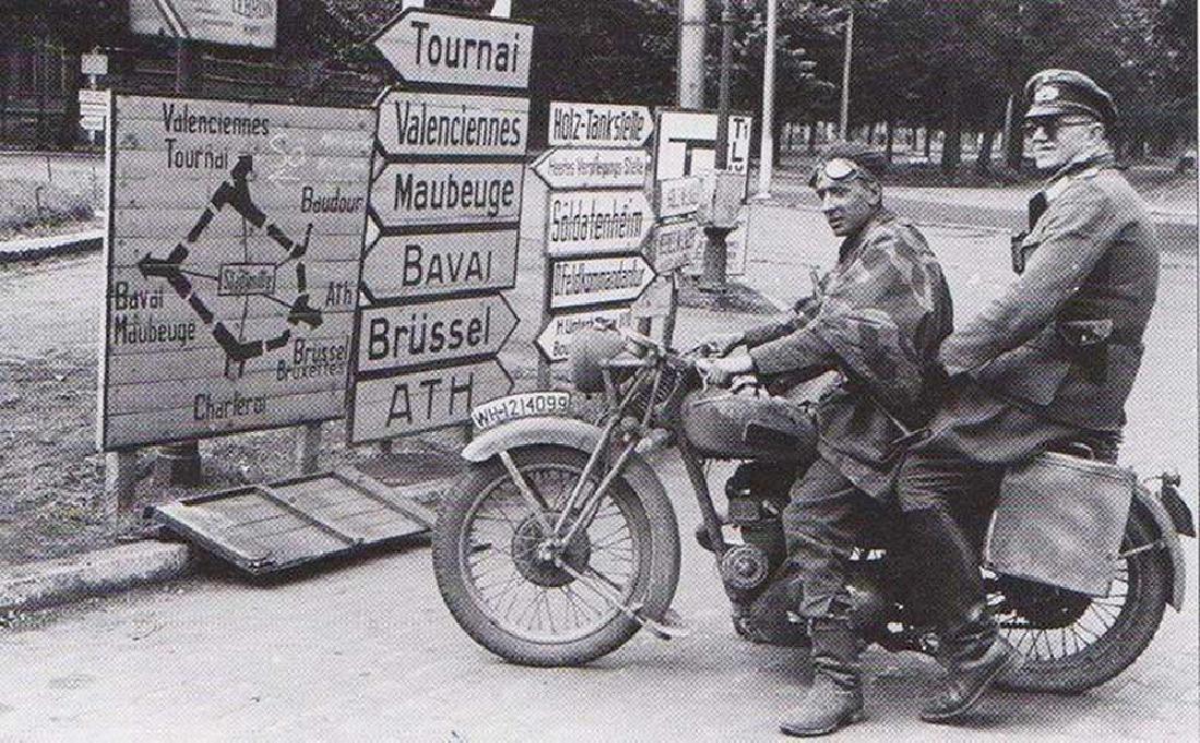 Original Rare German WW2 Road Sign LEMBERG - 13 km - 10