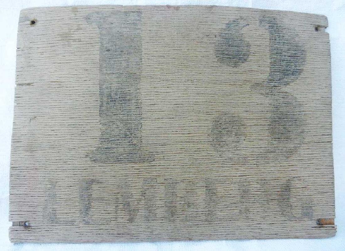 Original Rare German WW2 Road Sign LEMBERG - 13 km