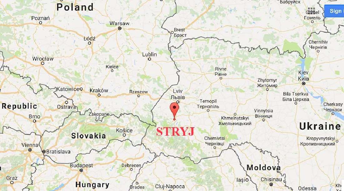 Jewish WW2 Ring STRYJ fr. Lemberg Lviv, Ukraine - 9