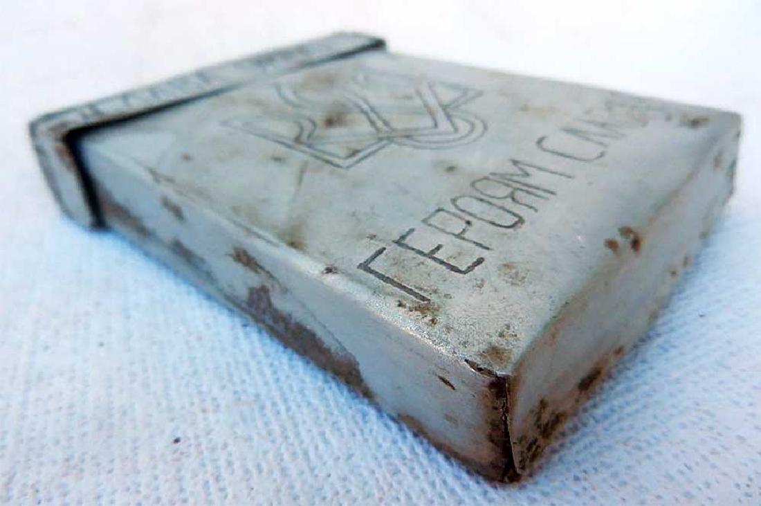 Ukrainian WW2 Cigarette Case fr. UPA-OUN - 8