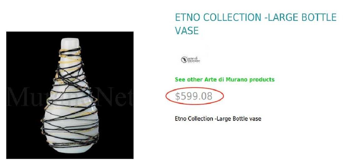 Extremely Rare Ceramic BOTTLE Etno w. Symbols - 10