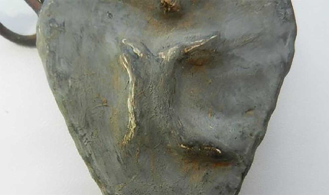 Extremely Rare Ceramic BOTTLE Etno w. Symbols - 7