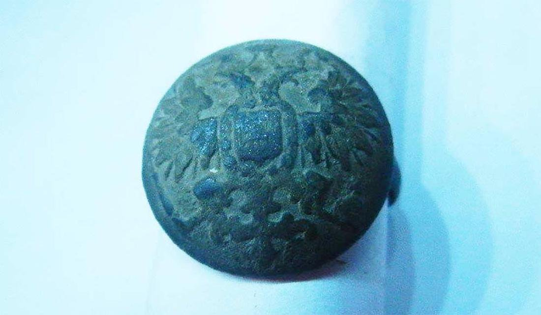 Original Russian Imperial WW1 Ring, Trench Art - 8