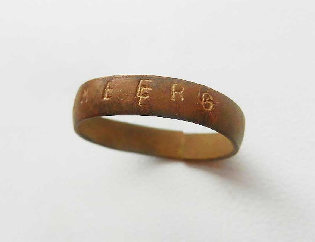 Original WW2 Ukrainian Ring LEMBERG, 1941-1944