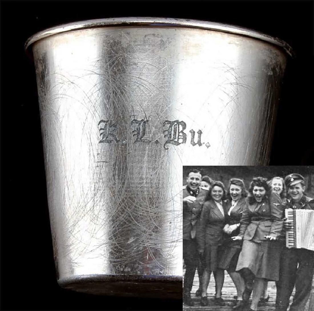 German WWII Cup fr. BUCHENWALD KZ KL
