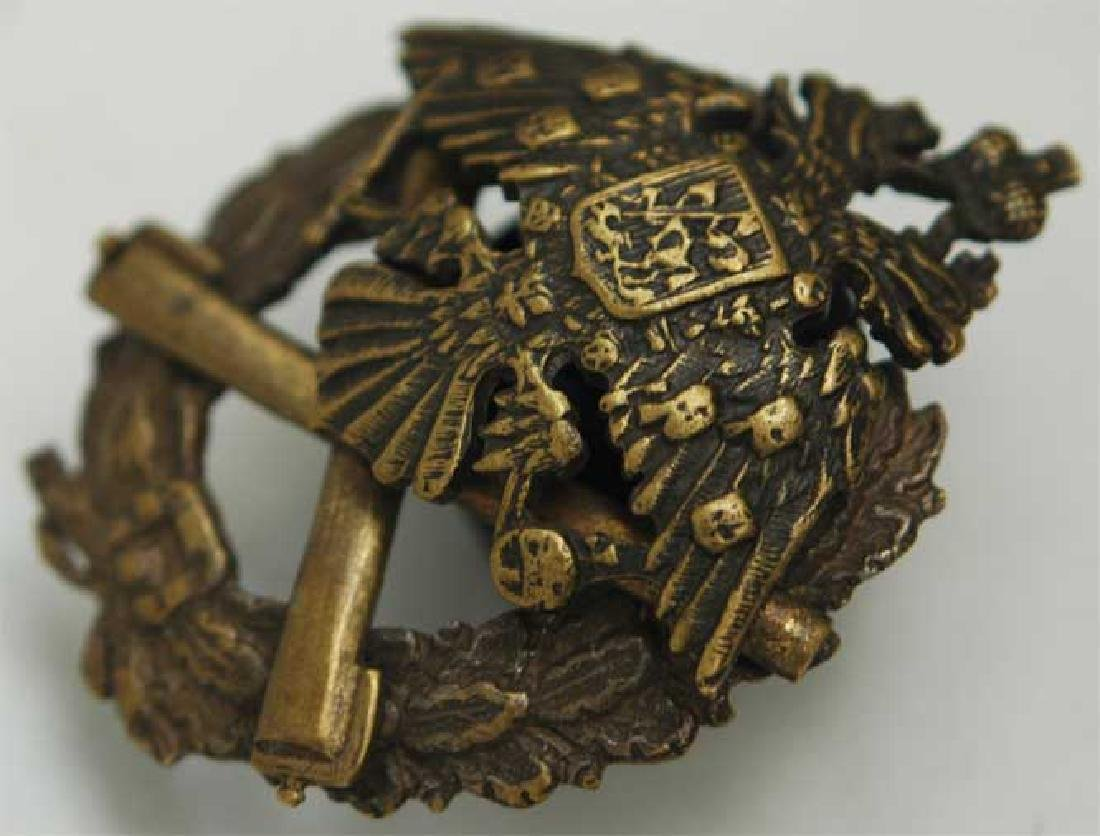 Russian Imperial Badge Artillery School, 1909 - 3