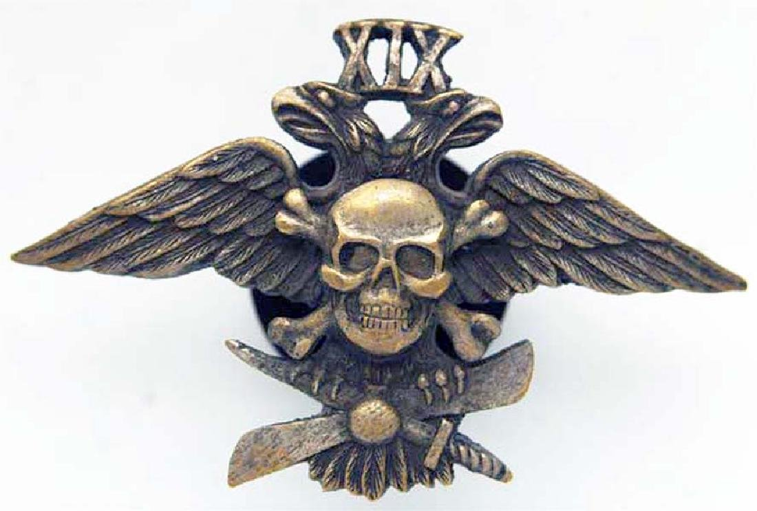 Russian Imperial Badge 19th Corps Air-division, 1917