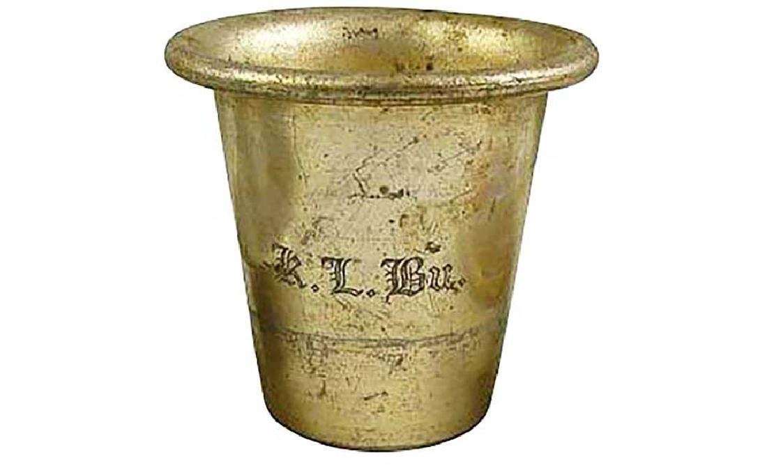 German WW2 Cup fr. BUCHENWALD Concentration Camp