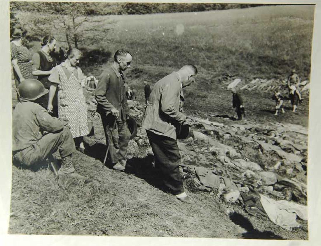 German WW2 Document, Murdered Prisoners in KZ - 10