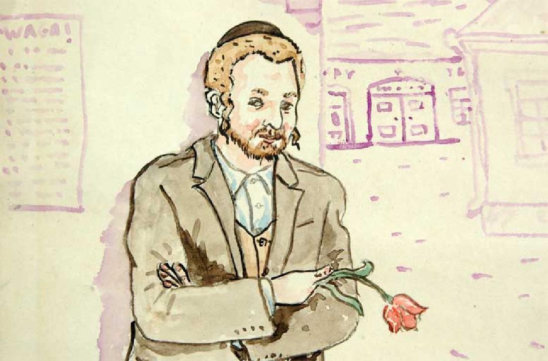 Jewish Picture of Lazar Weisman, 1929 Kolomyja