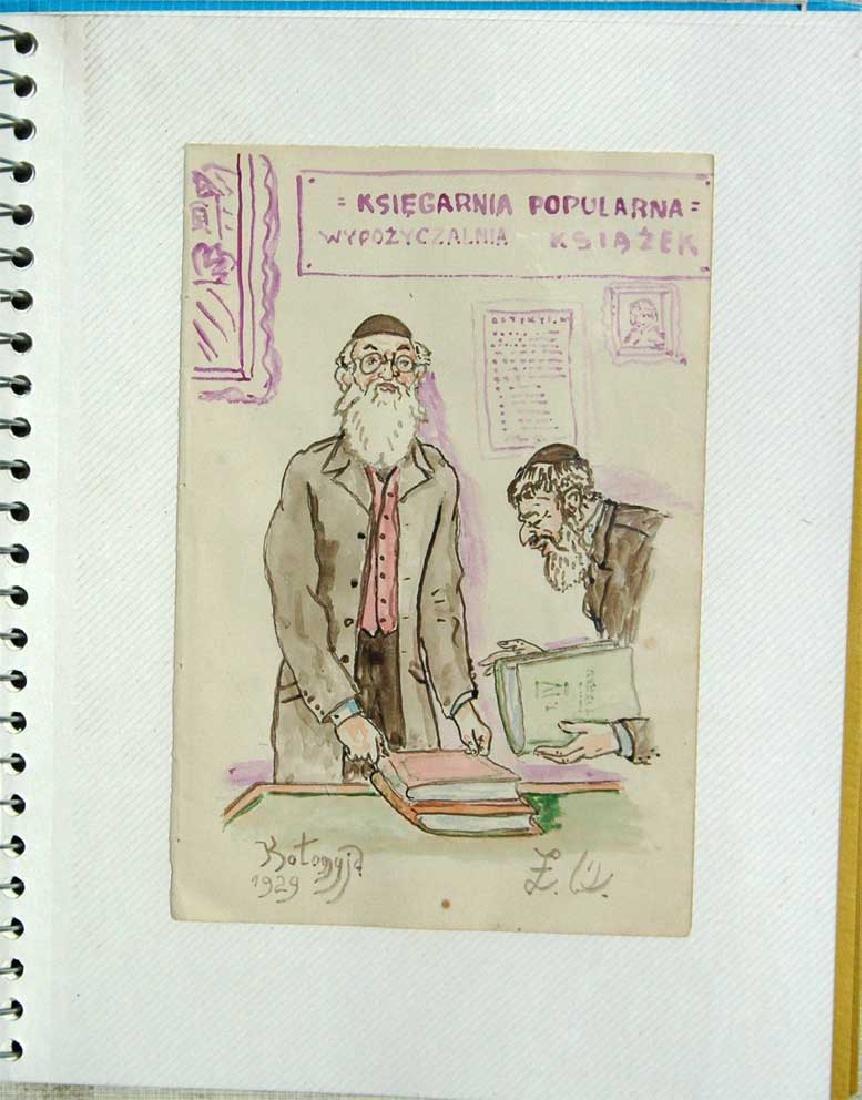 Jewish Picture of Lazar Weisman, 1929, Kolomyja - 2