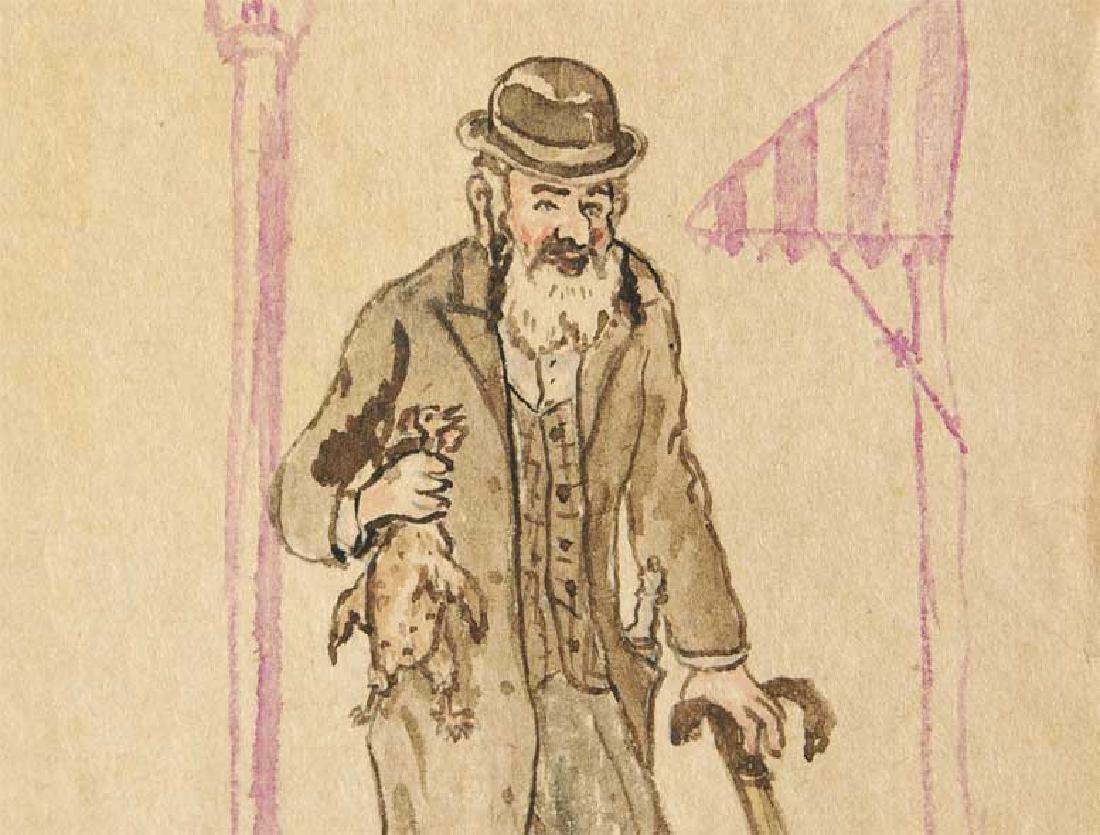 Jewish Picture of Lazar Weisman, 1933 Kolomyja