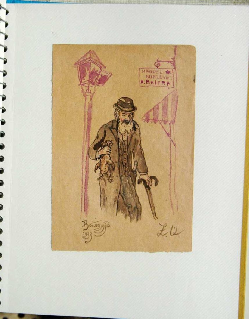 Jewish Picture of Lazar Weisman, 1933 Kolomyja - 2