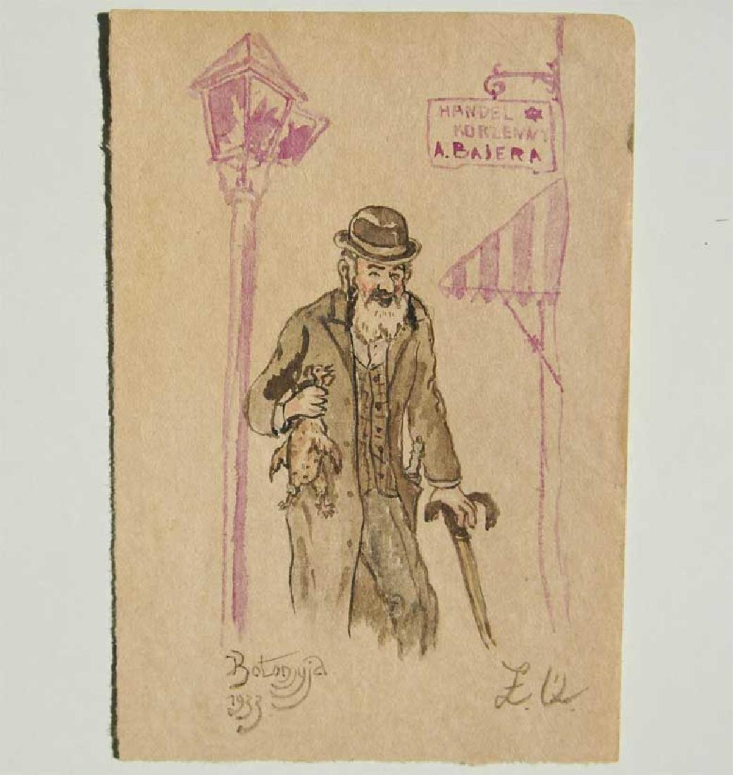 Jewish Picture of Lazar Weisman, 1933 Kolomyja - 3