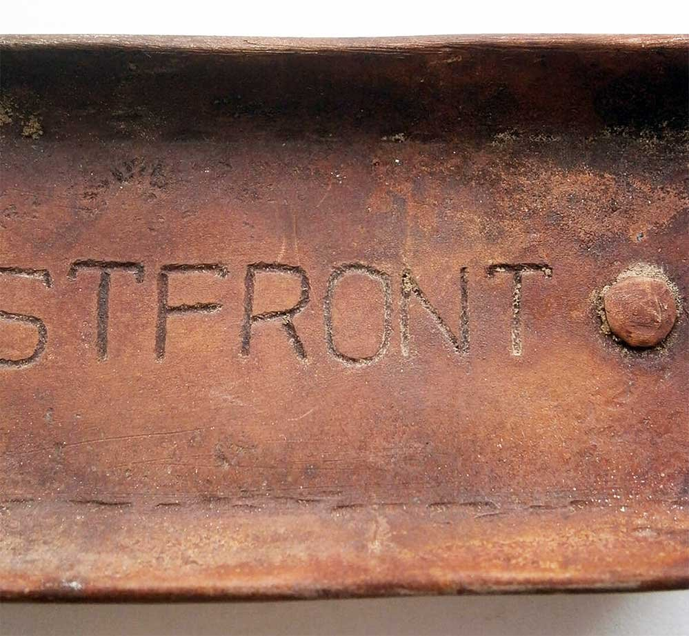 GERMAN WW2 ASHTRAY EASTERN FRONT, 1941-1945 - 8