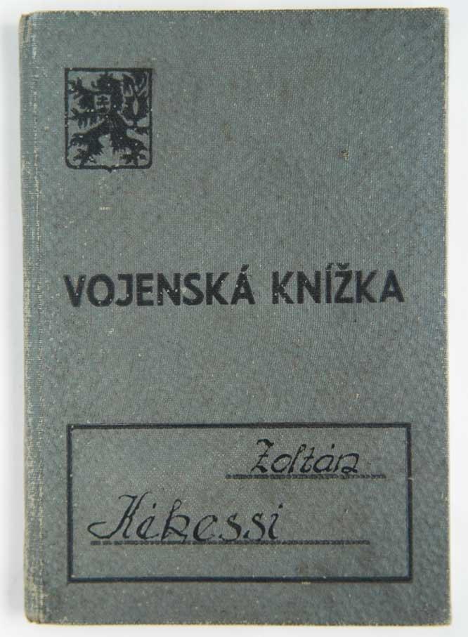 GERMAN WW2 ARMY HUNGARY VOLUNTEER MILITARY BOOK
