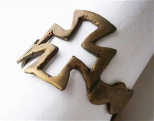 ORIGINAL GERMAN WW2 RING IRON CROSS 19401943