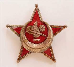 RARE GERMAN - OTTOMAN WW1 GALLIPOLI STAR, MEDAL