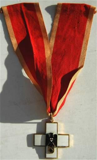 GERMAN WW2 RED GRAND CROSS 3d MODEL