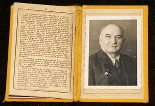 GERMAN-SERBIAN WW2 ID CARD, 1943