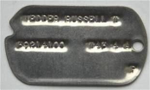 OFFICER'S IDENTIFICATION TAG