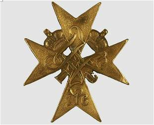 RUSSIAN IMPERIAL BADGE 116th INFANTRY REGIMENT
