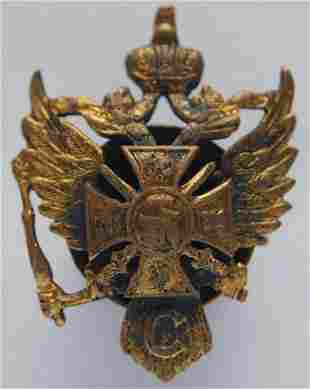 RUSSIAN IMPERIAL BADGE 115th INFANTRY REGIMENT