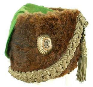 RUSSIAN IMPERIAL HUSSAR REGIMENT BUSBY, HAT