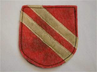 GERMAN WWII LIBERATION ARMY ROA COSSACK ARM SHIELD
