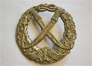 GERMAN WWII ITALIAN BADGE for RUSSIAN FRONT