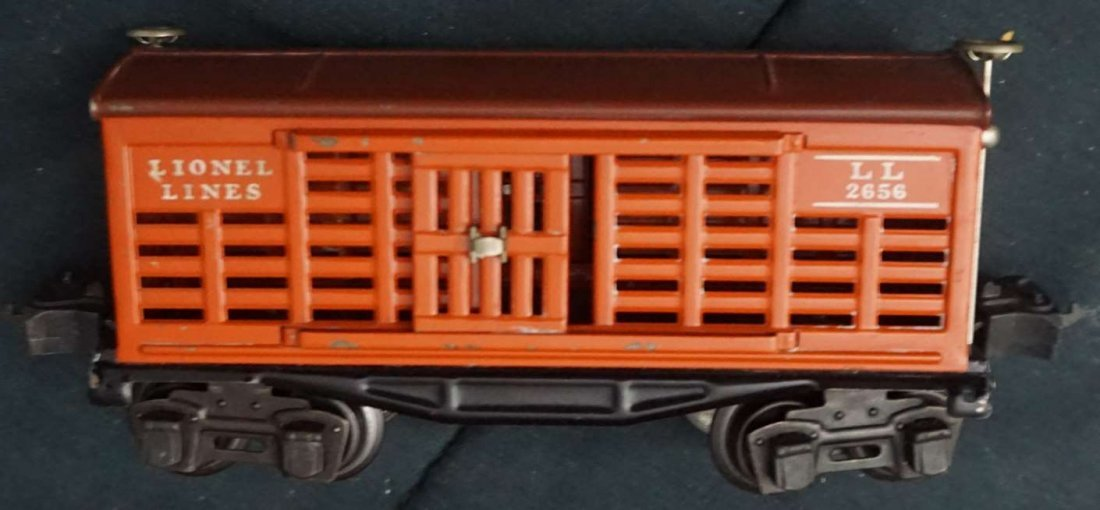 lionel 2656 cattle car ca 1940 boxed - 3