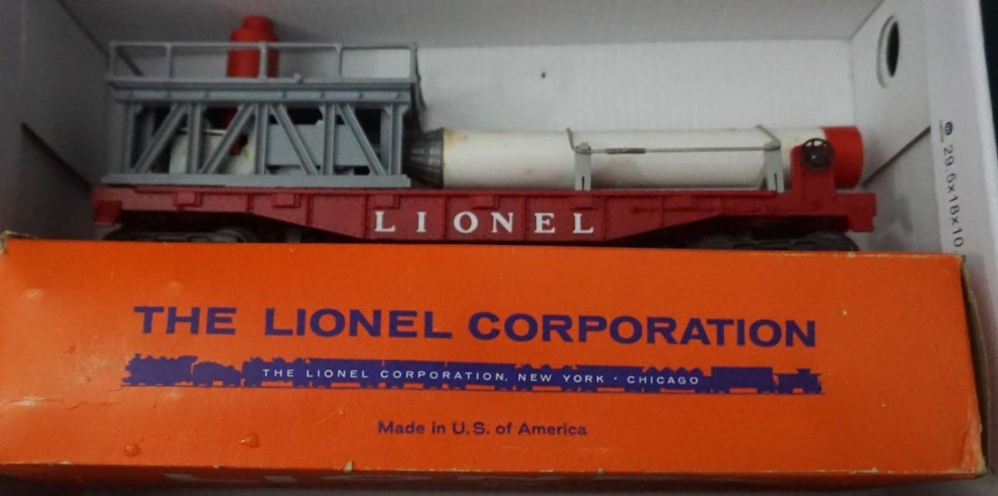 Lionel 3413 mercury capsule car mint in box