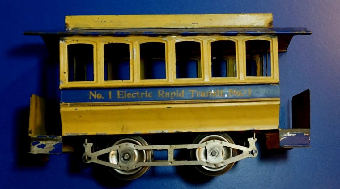 Lionel No. 1 Trolley Trailer circa 1910 clean!